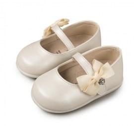 8e7b7e1a2293 Βαπτιστικά παπουτσάκια με φιογκάκι